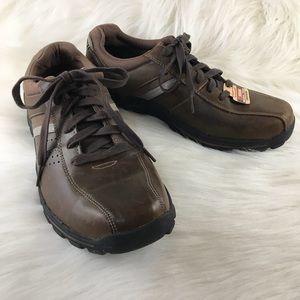Skechers Braver - Alfano Men's 9 Dark Brown